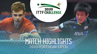 Владимир Сидоренко vs Shunsuke Togami | Portugal Open 2020 (U21 Final)