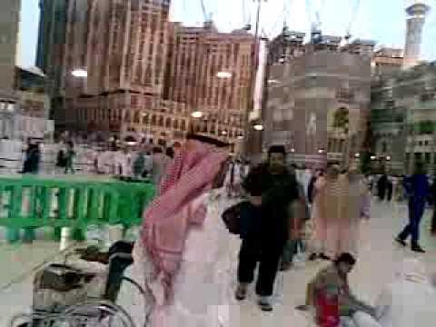 diamond ismail at Haram Sharif Baitullah