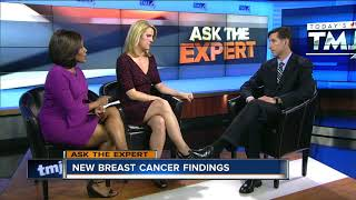 Ask the Expert: New breast cancer findings