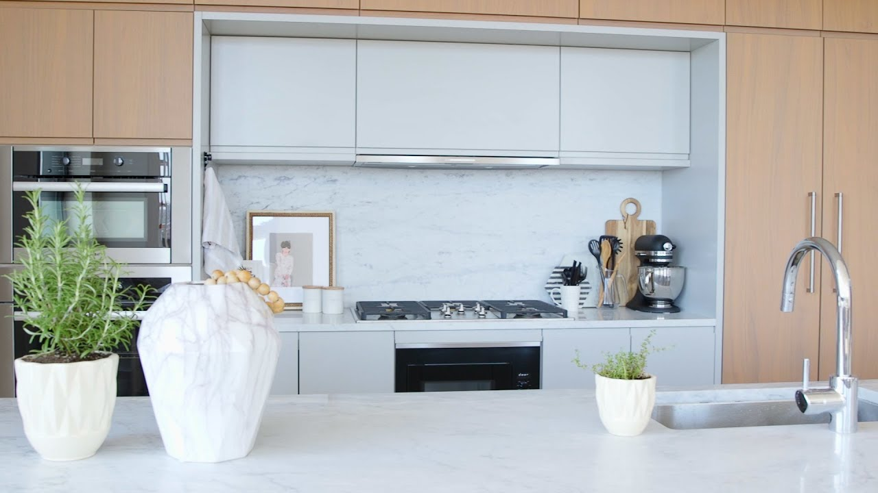 how to decorate your kitchen cabinets from home depot with tips a pro rs real simple