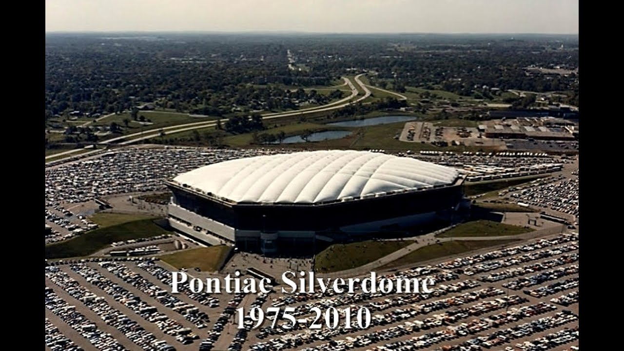 Tribute To The Now Closed Pontiac Silverdome In Michigan