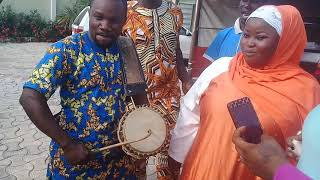 Ayanyemi with alaja aminat obirere