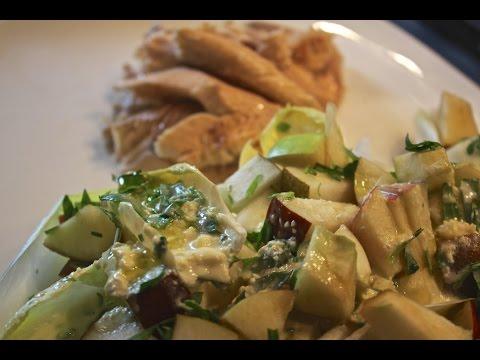 crEATe - Salt-Roasted Fish With Chicory Apple Salad