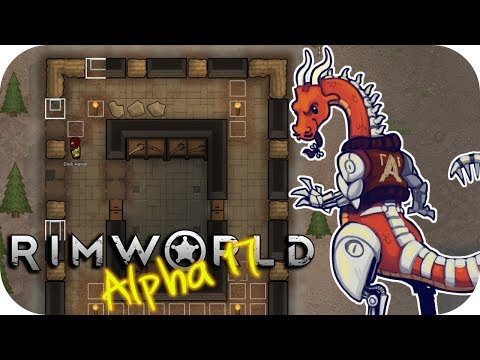 Rimworld Alpha 17 - 3. Building Bunkers - Let's Play Rimworld Gameplay