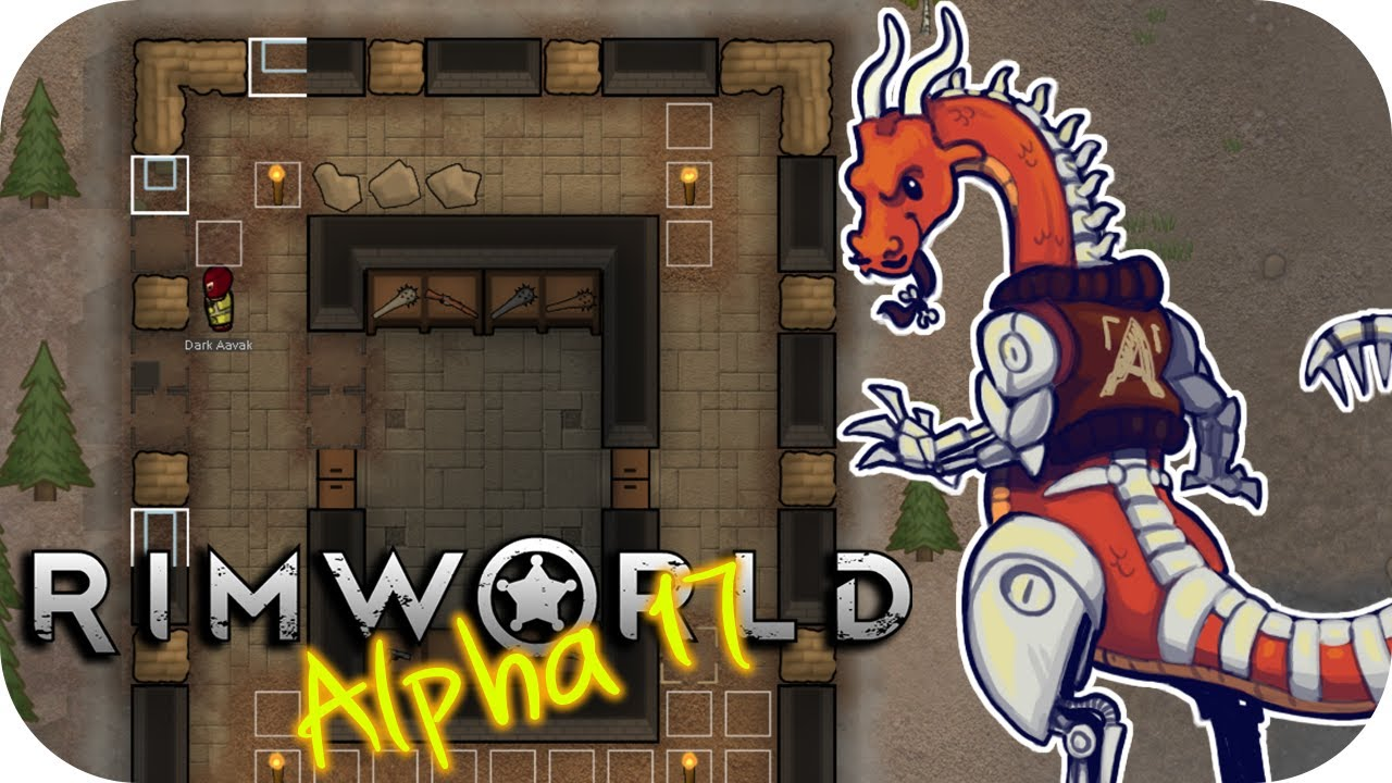 Rimworld Alpha 17 - 3  Building Bunkers - Let's Play Rimworld Gameplay