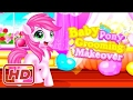 [ Game for Kids ] Baby pony grooming makeover - Pony Baby Caring - Care My Little Pony - Horse Care