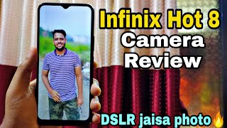 Infinix Hot 8 Camera Review | DSLR ko bhi fail Kar diya isne toh 😍🔥 | In-depth Camera review !!