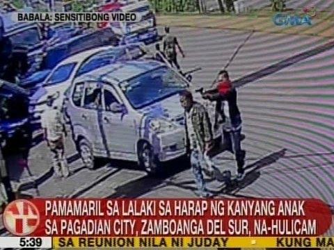 UB: Pamamaril sa lalaki sa harap ng kanyang anak sa Pagadian City, Zamboanga Del Sur, na-hulicam