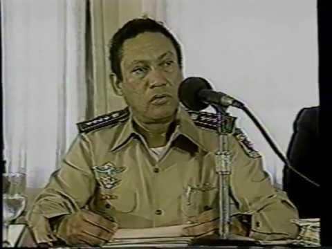 Discurso Manuel Antonio Noriega (Dictadura - Panamá 1988)