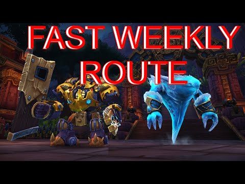 WoW New Player Weekly Mount Farm Route - You NEED To Start These ASAP!