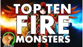 SUMMONERS WAR : TOP 10 FIRE MONSTERS !!!