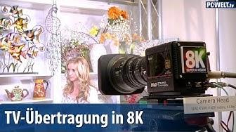 TV-Übertragung in 8K-Auflösung für 2020 geplant   deutsch / german