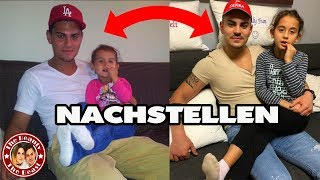 PEINLICHE KINDERFOTOS NACHSTELLEN !!! | TBATB