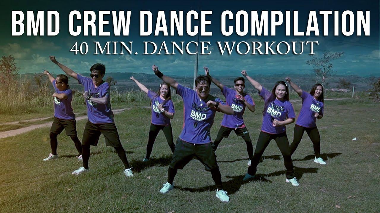 BMD Crew Dance Compilation   40 min. Dance Workout   Tiktok Viral   DJ Rowel   Zumba Dance Fitness