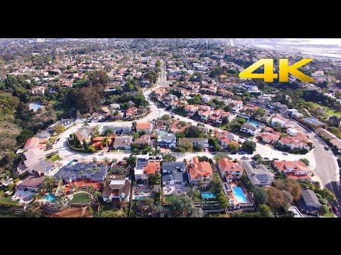 San Diego Presidio Park -  DJI Phantom 3 Professional 4K