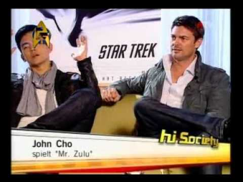 Karl Urban & John Cho in Vienna 2009 - Star Trek Interview ATV
