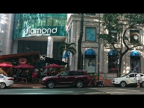 Diamond Plaza | Travel in Saigon - HoChiMinh City 2017