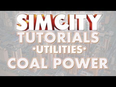 SimCity 2013 Tutorial - COAL POWER