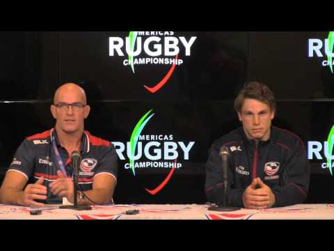 Americas Rugby Championship 2016: USA v. Argentina post-match press conference