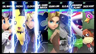 Super Smash Bros Ultimate Amiibo Fights Request #1418 Free for all at Wily's Castle Round 2