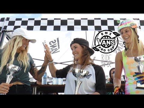 WOMAN'S BMX FINALS! - VANS BMX PRO CUP SYDNEY