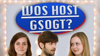 Wos host gsogt? - ItsColeslaw und GarNichz. | Dialekt-Quiz