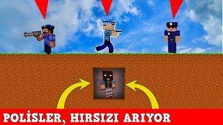 THİEF VS POLİCE - Minecraft