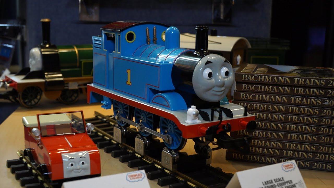 728e617b4a3 Toy Fair 2018  Bachmann Trains! Thomas the Tank Engine! - YouTube