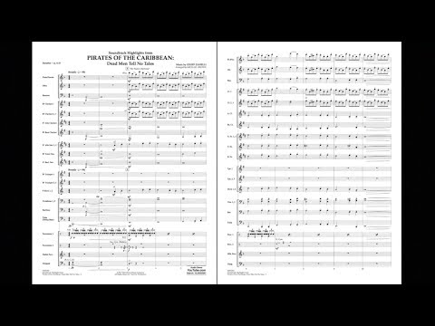Soundtrack Highlights From Pirates Of The Caribbean: Dead Men Tell No Tales By Zanelli/arr. Brown