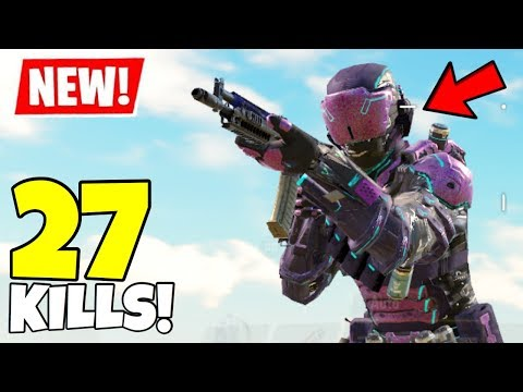 *NEW* SPECTRE GEIST SKIN GAMEPLAY IN CALL OF DUTY MOBILE BATTLE ROYALE!
