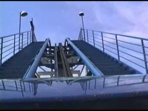 Shockwave roller coaster Six Flags Great America Gurnee Illinois from 1993!