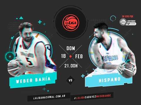Liga Nacional: Weber Bahía vs. Hispano | #LaLigaEnTyCSports
