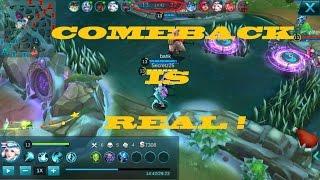 Mobile Legends : Bang bang - Kagura (HIGHLIGHTS) COMEBACK IS REAL !