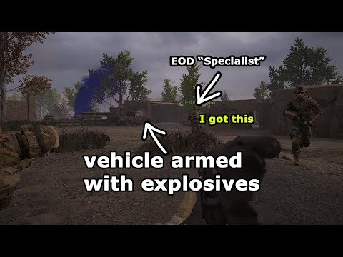 The Best Squad Leader I've Had... - Squad Funny Moments