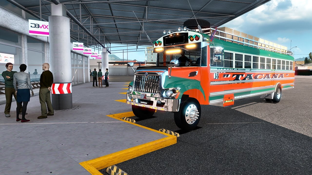 Guatemala LOS MEJORES Buses Transportes TACANA CARRETERA PELIGROSAS MÉXICO (chicken bus Guatemala)