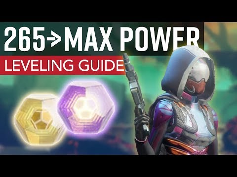 Destiny 2 - How to Get to Max Power // Ultimate Leveling Guide