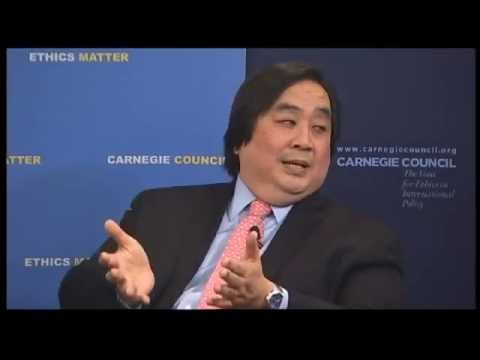 """Global Ethics Forum: """"War on Terror,"""" an Insider's View: A Conversation with Harold H. Koh"""