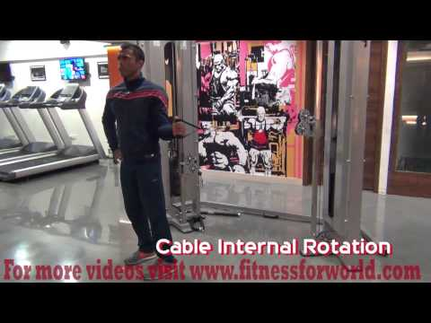 cable internal rotation  by  Expert  Mayur Deshpande (ACSM & ACE certified) Mumbai