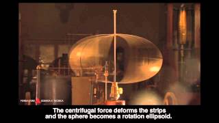 Centrifugal force experiments with a whirling table