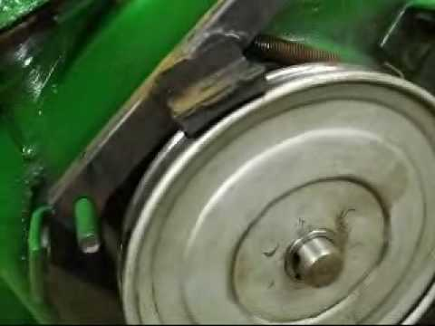 John Deere 1032 Snowblower Repair & Modification Video Part #5 ...