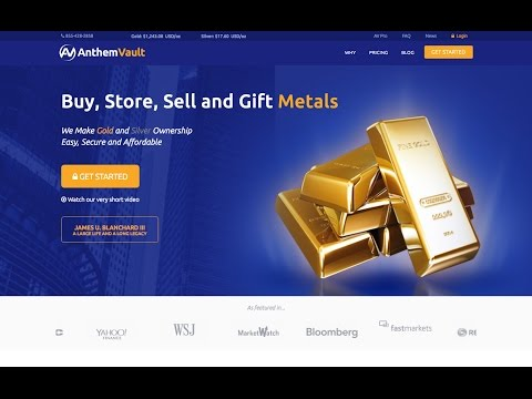 An Interview with Anthem Blanchard of Anthem Vault: Gold Backed Crypto Currency