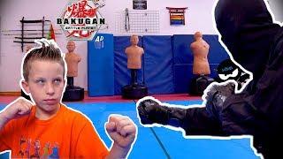 Bakugan Challenge and Ninja Battle!