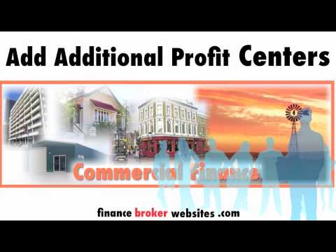 Extra profit centers for finance and mortgage brokers