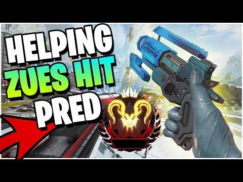 Helping ZEUS Get APEX PREDATOR! (Apex Legends PS4)