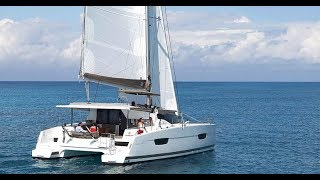 Fountaine Pajot Lucia 40 catamaran Walkthrough at Dusseldorf BOOT 2016