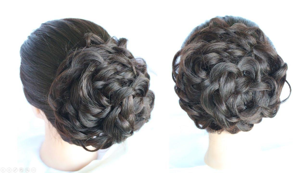 how to do a messy bun || bun hairstyles || wedding guest hairstyles || bridal hairstyle || hair bun