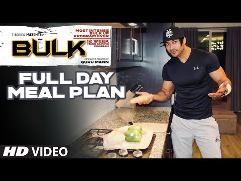 Full Day Bulk Up Diet Plan | BULK Mass Building Program | Guru Mann | Health & Fitness thumbnail