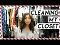 Cleaning Out My Closet! + Shopping For Secret Trip!!! Vlogmas Day 5