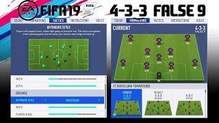 Fifa 19 4-3-3 false 9 formation tutorial instagram: https://www.instagram.com/fifacustomtactics facebook: https://www.facebook.com/fifa-custom-tactics-300026...