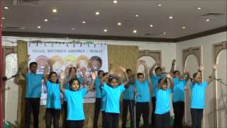 Walking In the Light Of the Lord (action song) - GBA Children